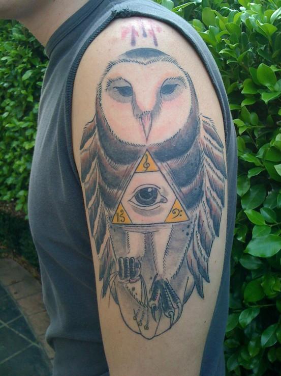 Tatuagens criativas de corujas (86)