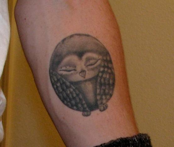 Tatuagens criativas de corujas (85)