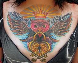 Tatuagens criativas de corujas (84)