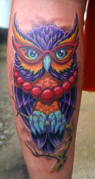 Tatuagens criativas de corujas (82)