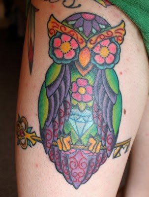 Tatuagens criativas de corujas (81)