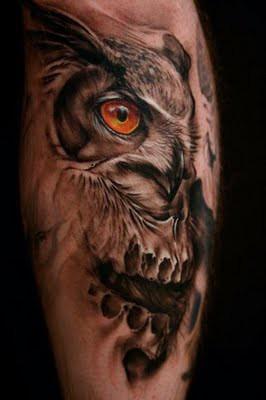 Tatuagens criativas de corujas (79)