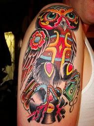 Tatuagens criativas de corujas (78)
