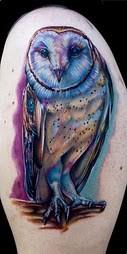 Tatuagens criativas de corujas (76)
