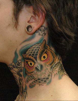 Tatuagens criativas de corujas (75)