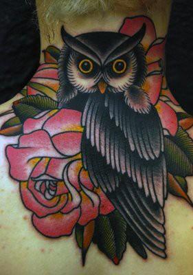 Tatuagens criativas de corujas (74)