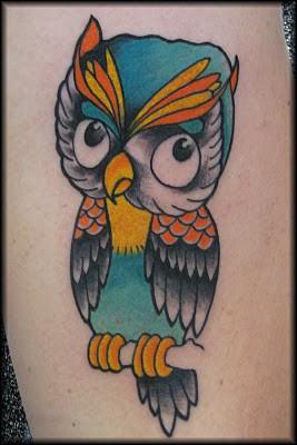 Tatuagens criativas de corujas (73)