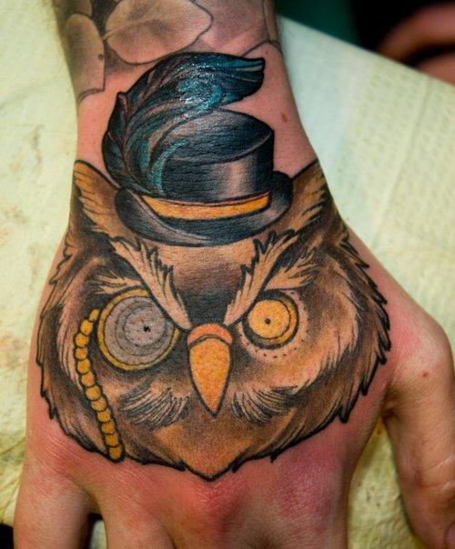 Tatuagens criativas de corujas (69)