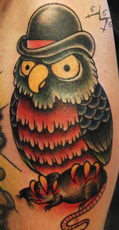 Tatuagens criativas de corujas (68)