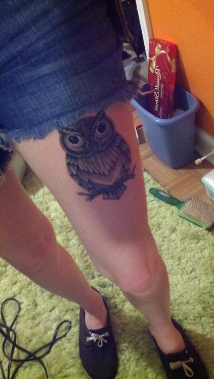 Tatuagens criativas de corujas (65)