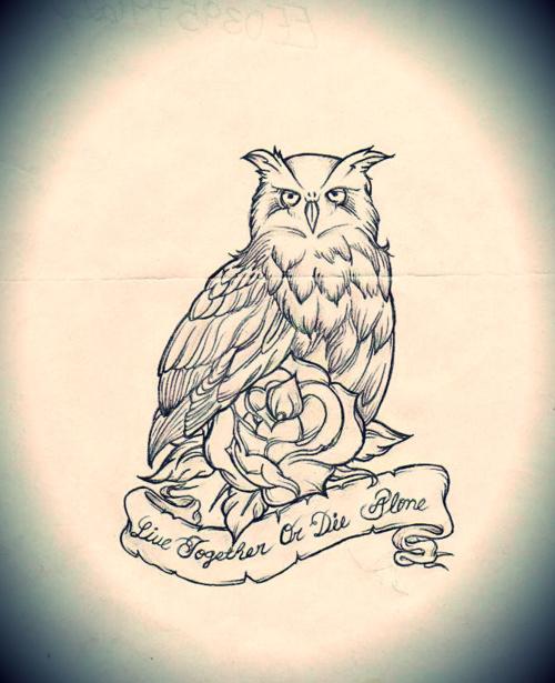 Tatuagens criativas de corujas (61)