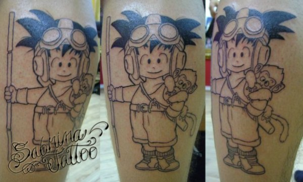 44 tatuagens de Dragon Ball (27)