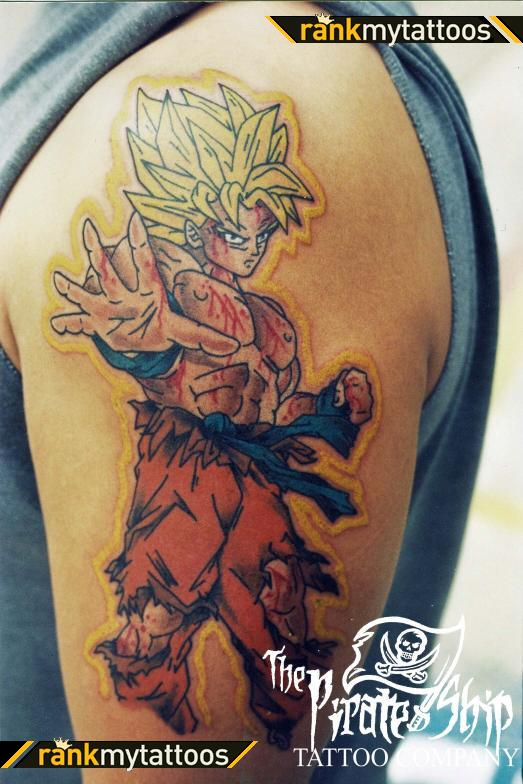 44 tatuagens de Dragon Ball (20)