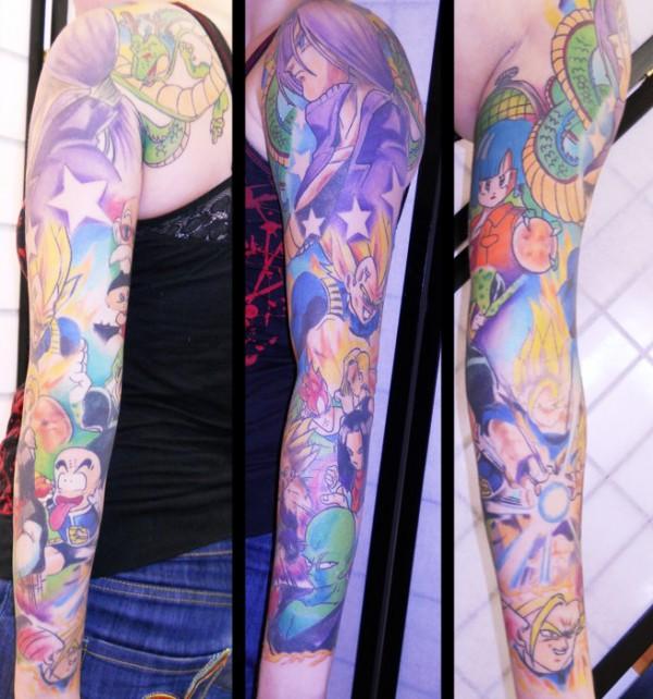 44 tatuagens de Dragon Ball (15)