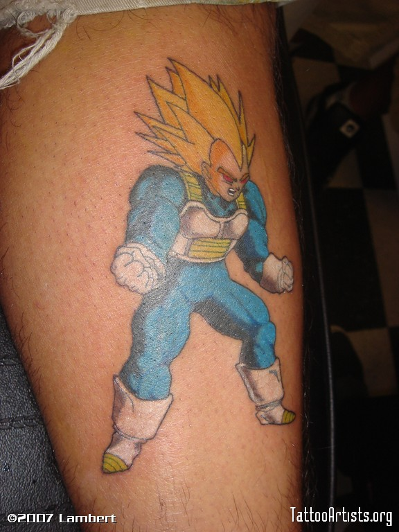 44 tatuagens de Dragon Ball (7)