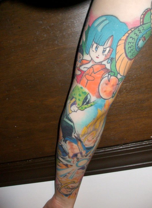 44 tatuagens de Dragon Ball (5)
