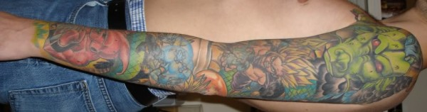 44 tatuagens de Dragon Ball (3)
