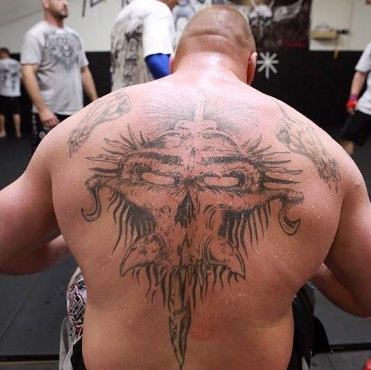 Lutadores mais tatuados do UFC (1)
