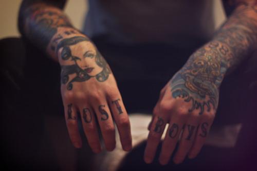 Imagens de tatuagens nas mãos (25)