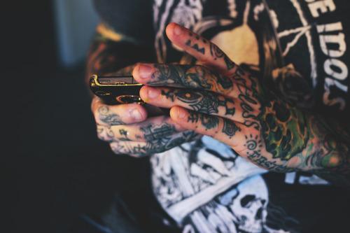 Imagens de tatuagens nas mãos (17)