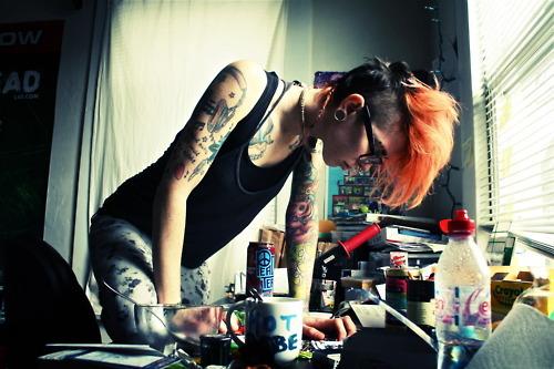 Seleção de fotos de ruivas tatuadas (42)