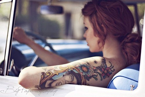 Seleção de fotos de ruivas tatuadas (32)