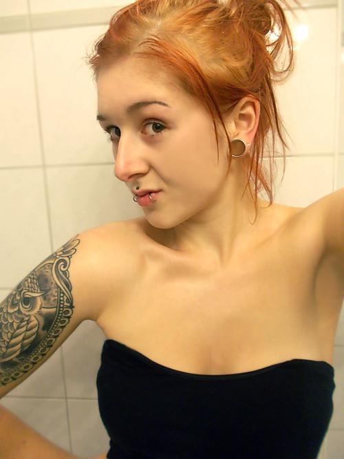 Seleção de fotos de ruivas tatuadas (27)