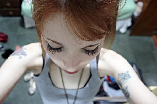 Seleção de fotos de ruivas tatuadas (22)