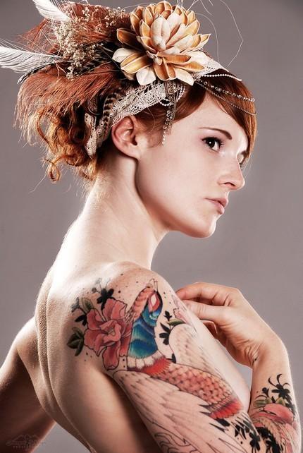 Seleção de fotos de ruivas tatuadas (21)