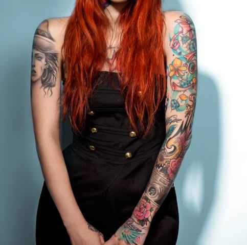 Seleção de fotos de ruivas tatuadas (19)