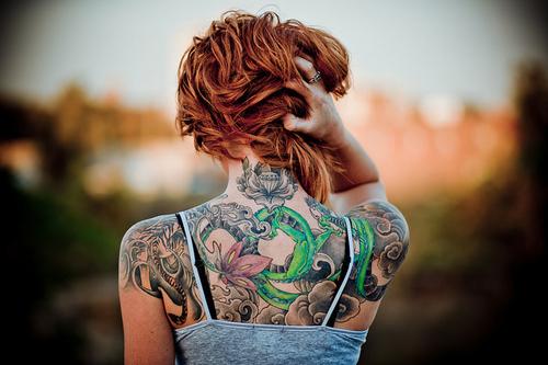 Seleção de fotos de ruivas tatuadas (16)