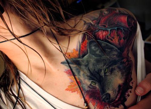 Seleção de fotos de ruivas tatuadas (1)