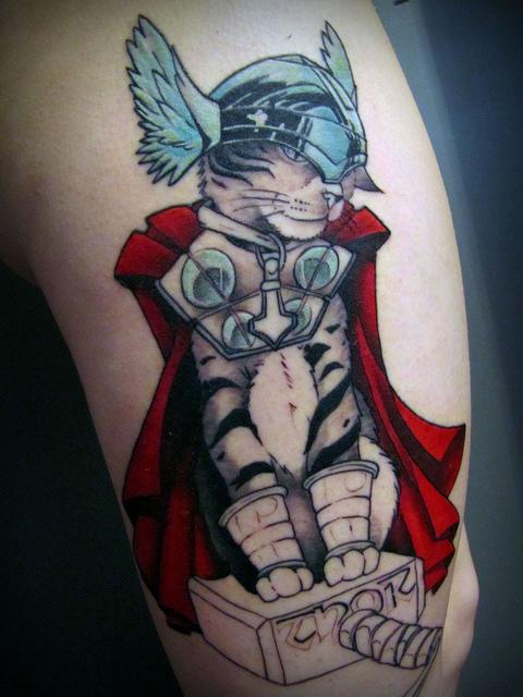45 Tatuagens Com Thor O Deus Do Trovão