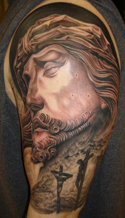 Tatuagens de Jesus Cristo (36)