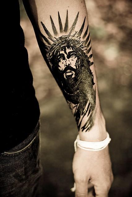 Fabuloso 50 tatuagens diversas com o tema Jesus Cristo LK08