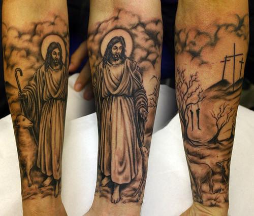 Tatuagens de Jesus Cristo (27)