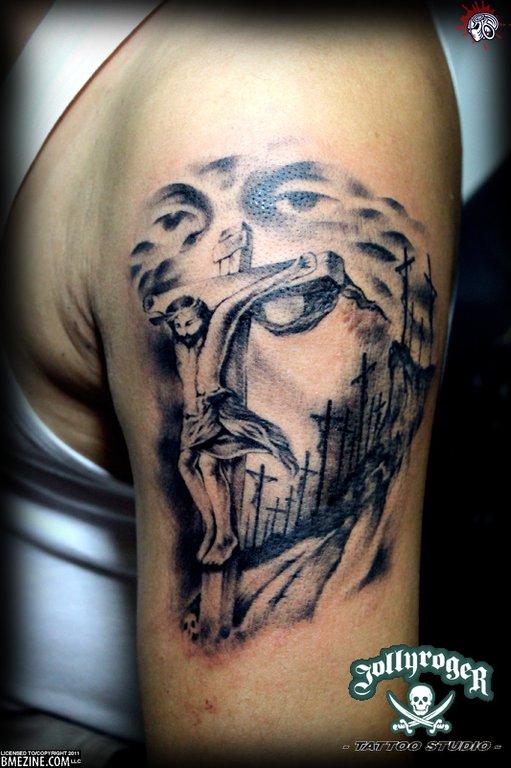 Tatuagens de Jesus Cristo (20)
