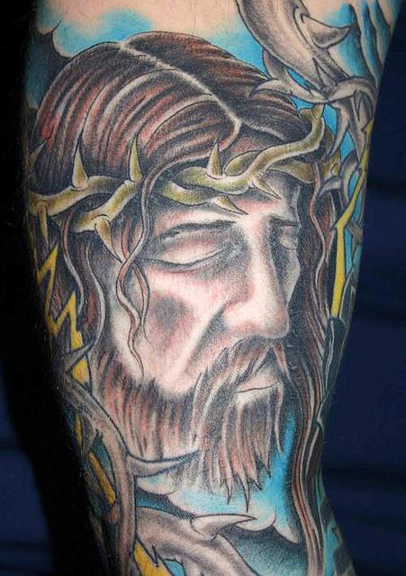 Tatuagens de Jesus Cristo (10)