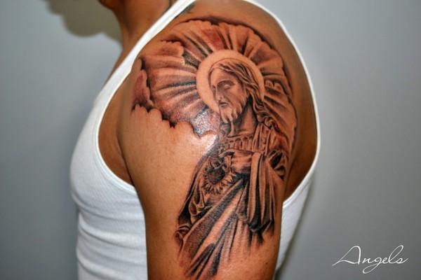 Tatuagens de Jesus Cristo (9)