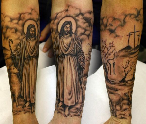 Tatuagens de Jesus Cristo (4)
