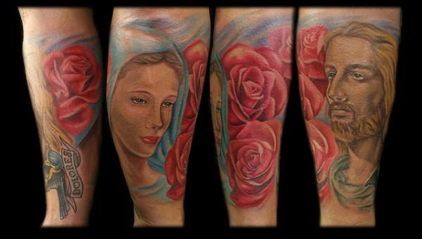 Tatuagens de Jesus Cristo (3)