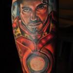 41 tatuagens do Homem de Ferro