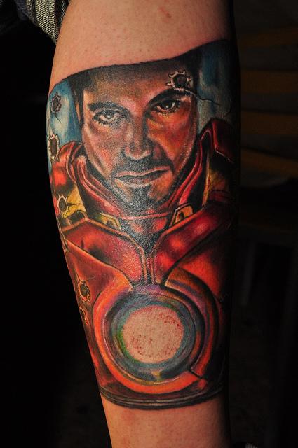 Tatuagens de O Homem de Ferro (1)