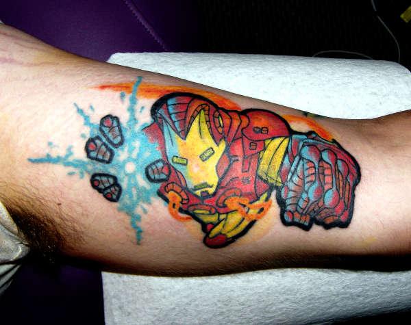 Tatuagens de O Homem de Ferro (20)