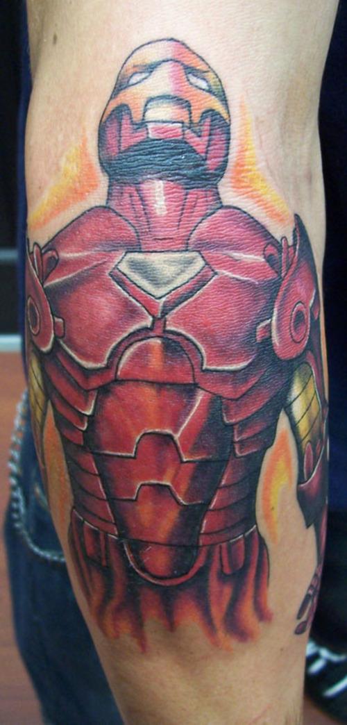 Tatuagens de O Homem de Ferro (17)
