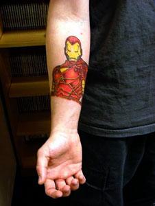 Tatuagens de O Homem de Ferro (16)
