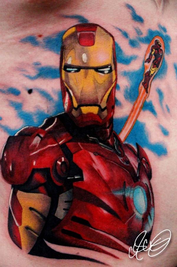 Tatuagens de O Homem de Ferro (15)