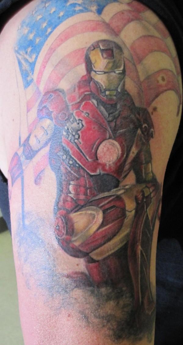 Tatuagens de O Homem de Ferro (7)