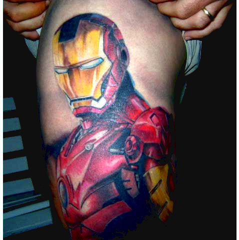 Tatuagens de O Homem de Ferro (5)