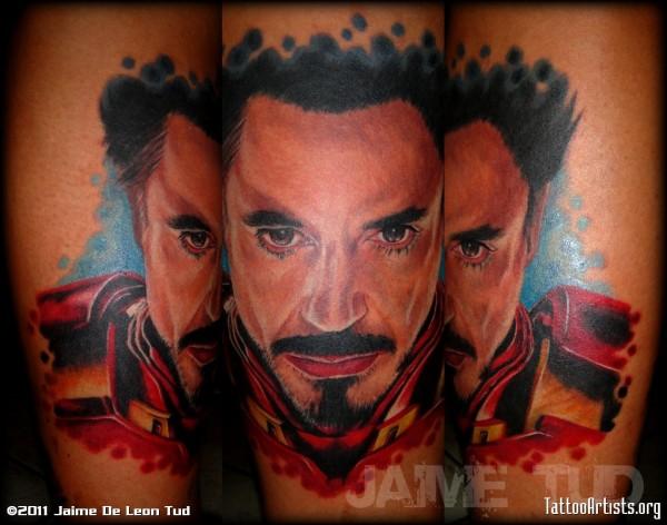 Tatuagens de O Homem de Ferro (4)